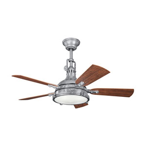 Hatteras Bay Patio Galvanized Steel 44-Inch Four-Light Ceiling Fan