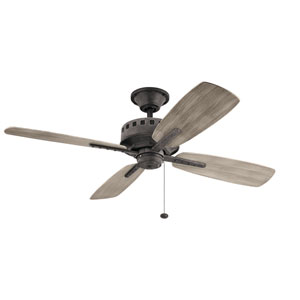 Eads Weathered Zinc 52-Inch Ceiling Fan