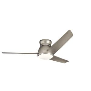 60 Inch Eris Fan LED in Brushed Nickel