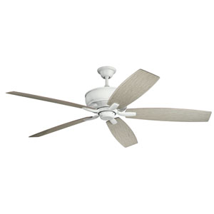 Monarch Matte White Ceiling Fan