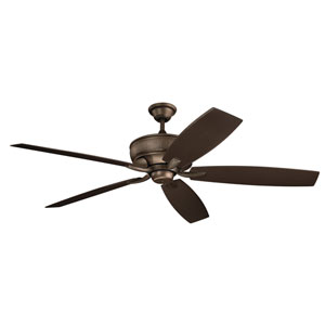 Monarch Weathered Copper Powder Coat Ceiling Fan
