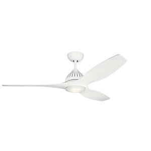 Jace White LED 60-Inch Ceiling Fan