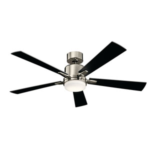 Lucian Polished Nickel LED Ceiling Fan