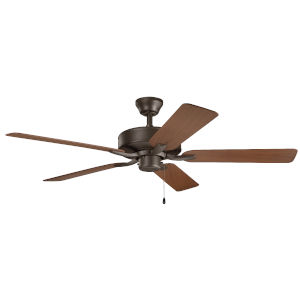 Basics Pro Satin Natural Bronze 52-Inch Patio Ceiling Fan