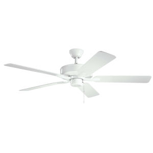 Basics Pro White 52-Inch Patio Ceiling Fan