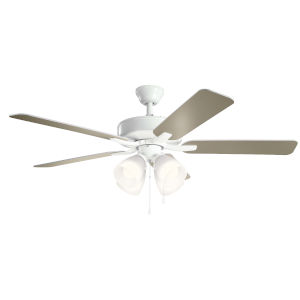 Basics Pro Premier White 52-Inch Ceiling Fan