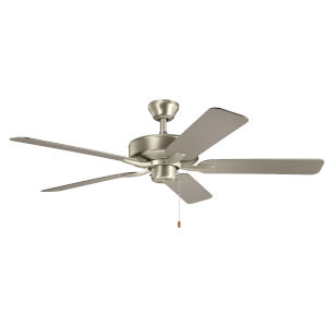 Basics Pro Brushed Nickel 52-Inch Ceiling Fan