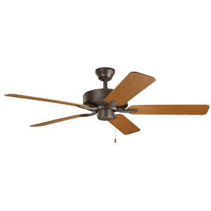 Basics Pro Satin Natural Bronze 52-Inch Ceiling Fan