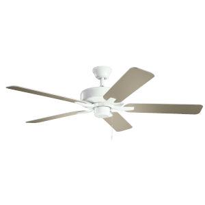 Basics Pro White 52-Inch Ceiling Fan