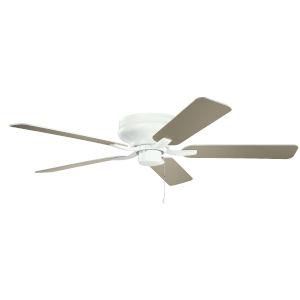 Basics Pro Legacy Matte White 52-Inch Ceiling Fan
