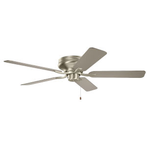 Basics Pro Legacy Brushed Nickel 52-Inch Ceiling Fan