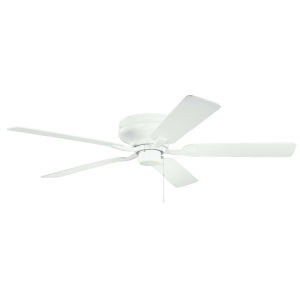 Basics Pro Legacy Matte White 52-Inch Patio Ceiling Fan