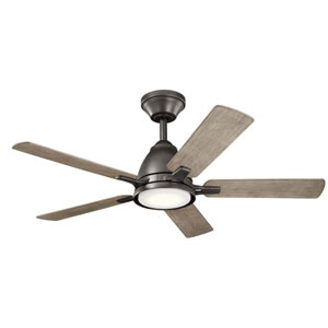 Arvada Anvil Iron 44-Inch LED Ceiling Fan