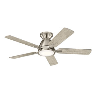Arvada Brushed Stainless Steel 44-Inch LED Ceiling Fan