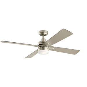 Lija Brushed Nickel 52-Inch LED Ceiling Fan