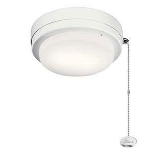 Arkwet Matte White LED 7-Inch Ceiling Fan Light Kit