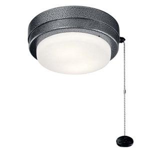 Arkwet Weathered Steel Powder Coat LED 7-Inch Ceiling Fan Light Kit