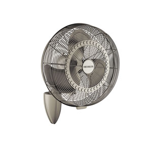 Pola Brushed Nickel 18-Inch Wall Fan