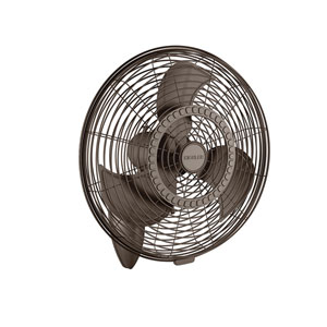 Pola Satin Natural Bronze 24-Inch Wall Fan