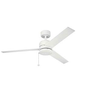 Arkwet Matte White 52-Inch Ceiling Fan