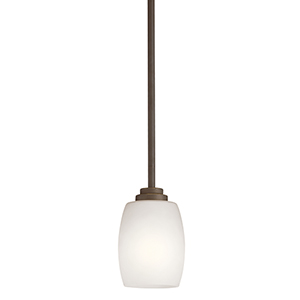 Eileen Olde Bronze One-Light Energy Star LED Mini Pendant