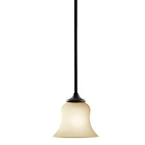 Wedgeport Olde Bronze Six-Inch One-Light Energy Star LED Mini Pendant