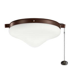 Coffee Mocha Two-Light Fan Light Kit