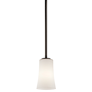 Armida Olde Bronze 4-Inch One-Light Energy Star LED Mini Pendant