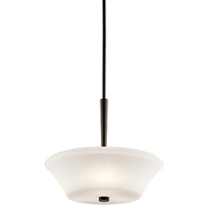 Aubrey Olde Bronze Three-Light Energy Star LED Pendant