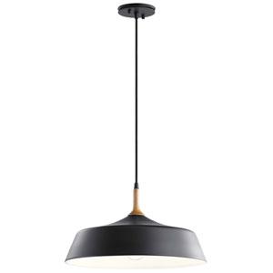 Danika Black One-Light Pendant