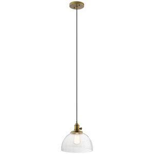 Avery Natural Brass One-Light Pendant