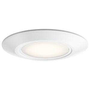 Horizon White LED Flush Mount
