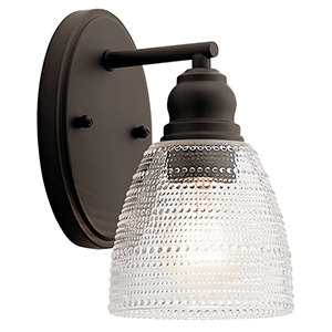 Karmarie Old Bronze One-Light Wall Sconce