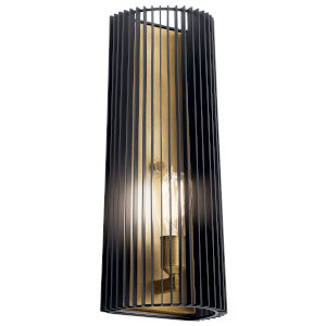 Linara Black Seven-Inch One-Light Wall Sconce