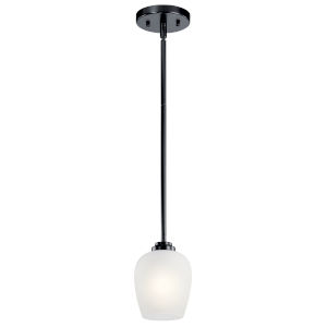 Valserrano Black Five-Inch One-Light Mini Pendant