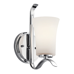 Armida Chrome One-Light Energy Star LED Wall Sconce