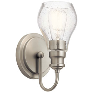 Greenbrier Brushed Nickel One-Light Wall Sconce