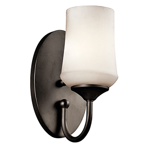 Aubrey Olde Bronze One-Light Energy Star LED Wall Sconce