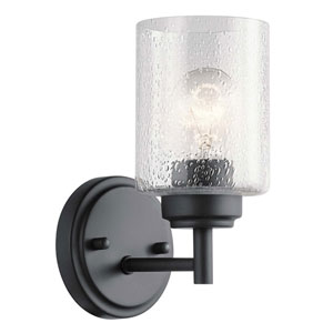 Winslow Black One-Light Wall Sconce