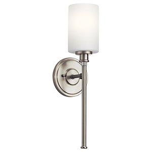 Joelson Brushed Nickel One-Light Energy Star LED Wall Sconce
