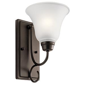 Bixler Olde Bronze One-Light Energy Star LED Wall Sconce