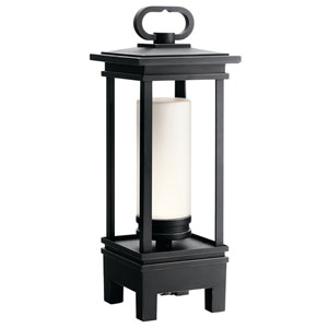 South Hope Rubbed Bronze LED Outdoor Portable Bluetooth Lantern