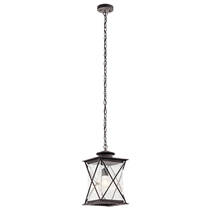 Argyle Weathered Zinc One-Light Energy Star LED Outdoor Pendant