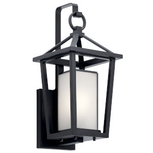 Pai Black Eight-Inch One-Light Outdoor Wall Sconce
