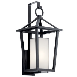 Pai Black 12-Inch One-Light Outdoor Wall Sconce