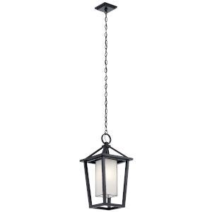 Pai Black 12-Inch One-Light Outdoor Pendant