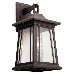 Taden Rubbed Bronze 10-Inch One-Light Outdoor Wall Sconce