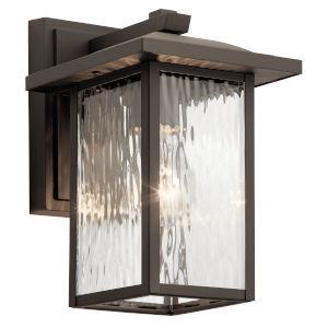 Capanna Olde Bronze Seven-Inch One-Light Outdoor Wall Sconce