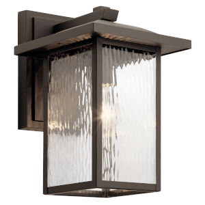 Capanna Olde Bronze Nine-Inch One-Light Outdoor Wall Sconce