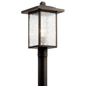 Capanna Olde Bronze 11-Inch One-Light Outdoor Post Light